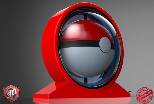 3D Glass Pokemon Go Light Decoration