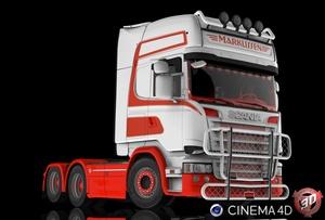 3D Scania R620 V8 Streamline