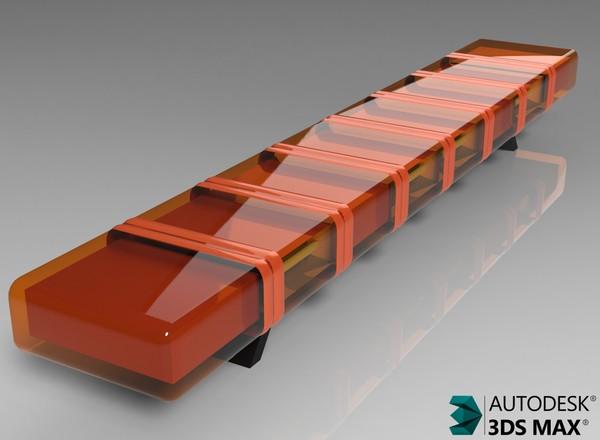 3D Giro Beacon Model