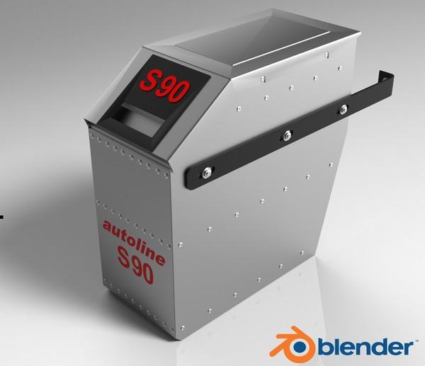3D Autoline S90 Model