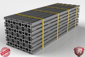3D Aluminium Beams Load