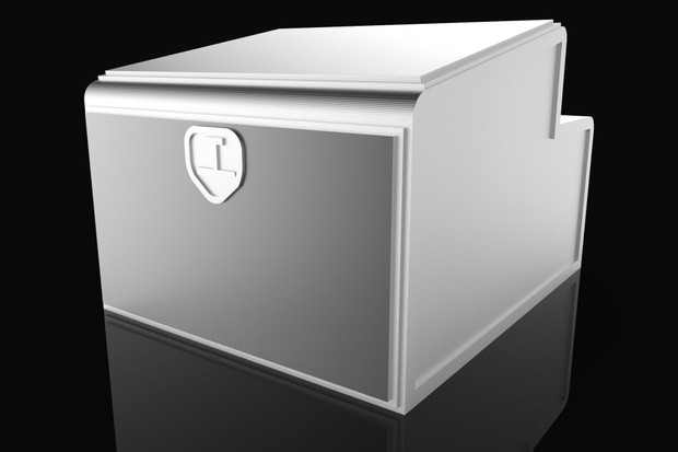 3D Chromed Toolbox