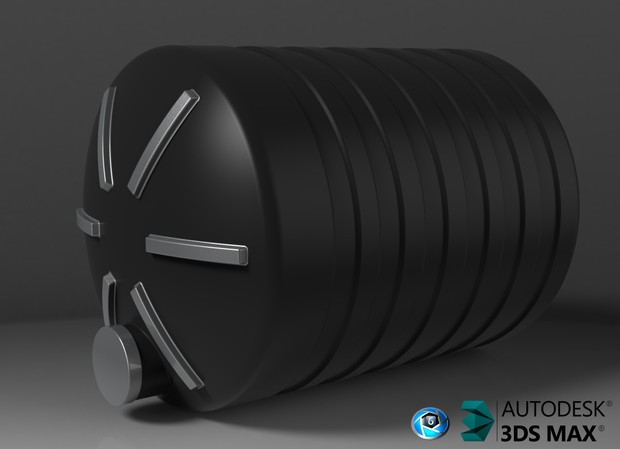 3D Plastic WaterTank For Trailers
