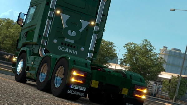 ETS2 V8 Stacks For Scania RJL