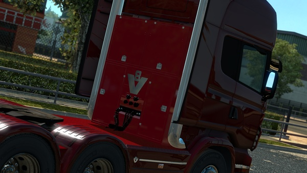 ETS2 V8 Stacks New Model For Scania RJL