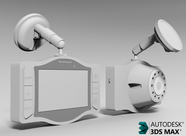 3D Dashboard Video Cam Model
