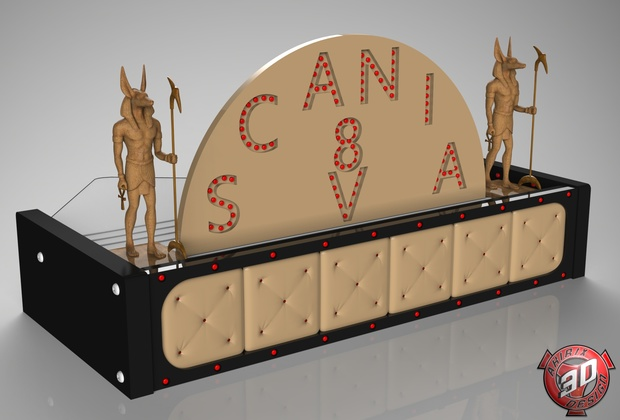 3D Scania Table Anubis Guardians