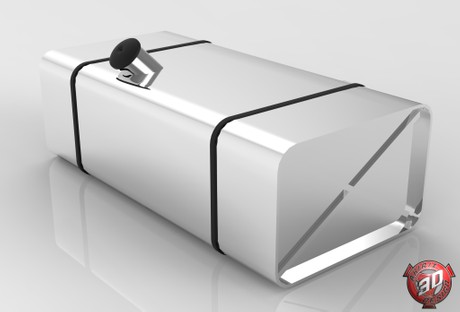 3D OldSchool Fuel Tank Model