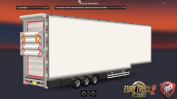 ETS2 DoubleDeck FRC Trailer Updated