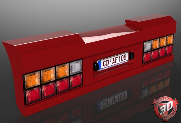 3D Holland BackBumper V2
