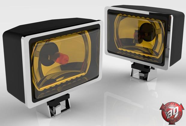 3D Hella Light Model