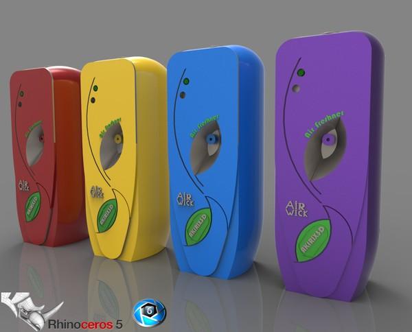 3D Air Freshner