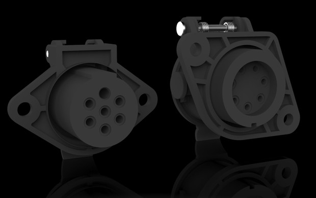 3D electric socket models pack