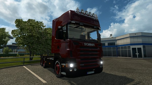 ETS2 Scania R500 6×4 Long Chassis Model
