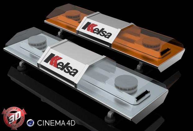 3D Strobe Kelsa Beacon Model