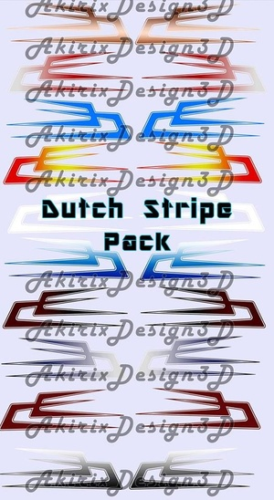 Danish Stripe Pack Logo's