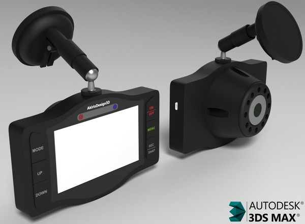 3D Dashboard Video Cam Model