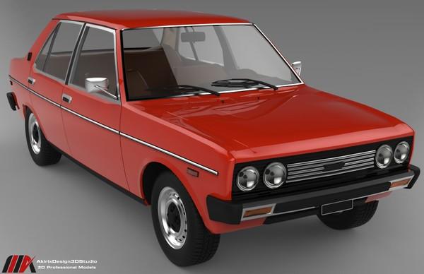 3D Fiat 131 Model