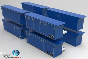 3D Sidepanel Boxes for Trucks Pack