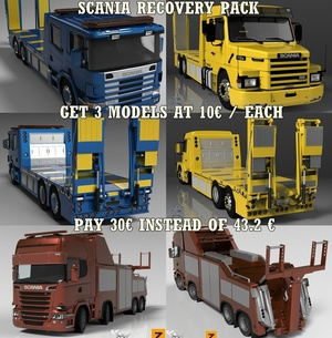 3D Scania Recovery Pack Offer
