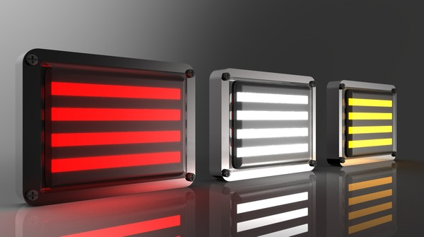 3D New Led Tail Lights Model