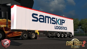 ETS2 4 Axled Bodex Trailer Model
