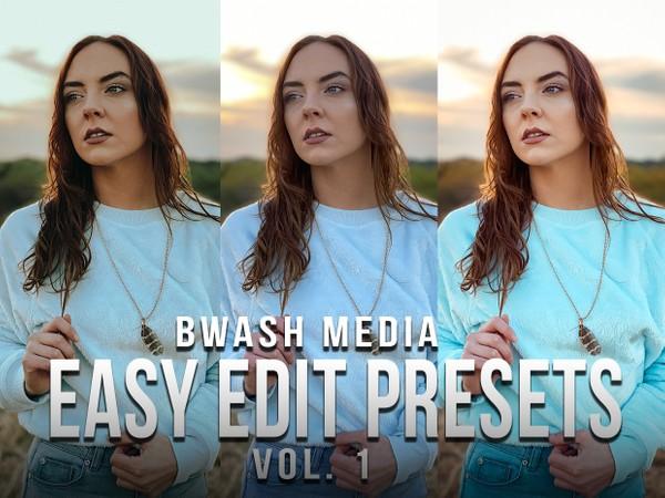 Easy Edit Presets Vol 1. | Bwash Media