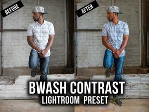 Bwash Media Contrast Lightroom Preset