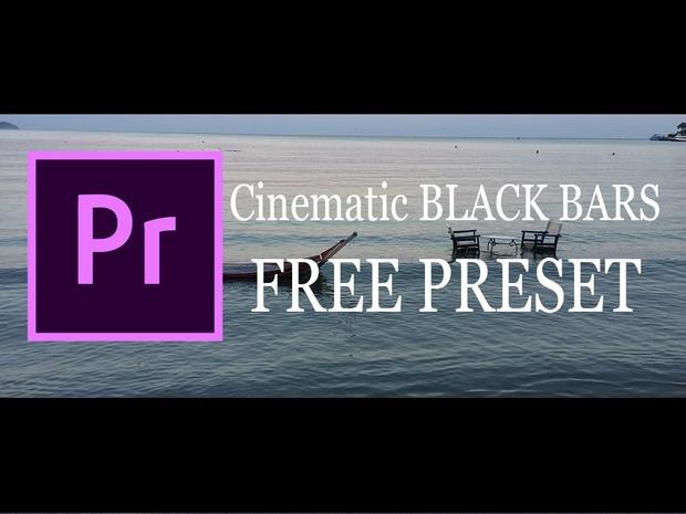 Peter McKinnon's cinematic Black Bars Free Preset - armin NISTOR