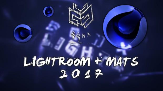 EQNX LIGHTROOM and MATERIALS 2017