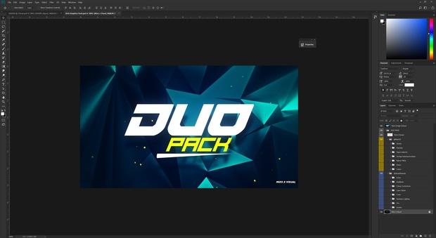 Duo Graphics Pack! (Visual x Mixo)