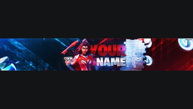 Fortnite Battle Royale Youtube Banner Template Free