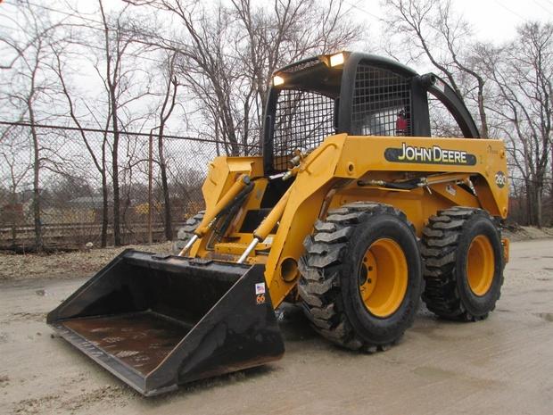 John Deere Skid Steer >> John Deere Skid Steer 260 270 Service Manual Tm1780