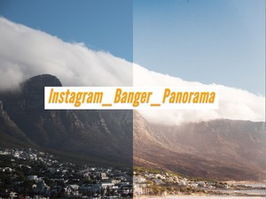 'Instagram_Banger_Panorama' Simple installation and one click to apply.