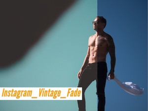 'Instagram_Vintage_Fade' Simple installation and one click to apply.