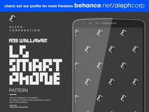 Free LG Smartphone Wallpapers - Pixel Art by aleph corporation