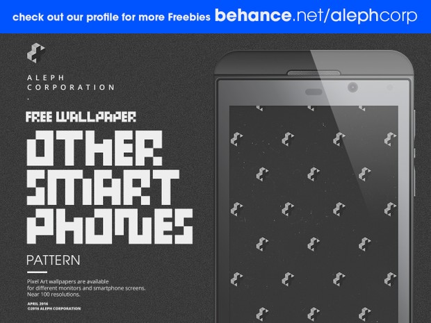 Free Asus/BlackBerry/Gionee/Oppo/YU/ZTE Smartphone Wallpapers - Pixel Art by aleph corporation