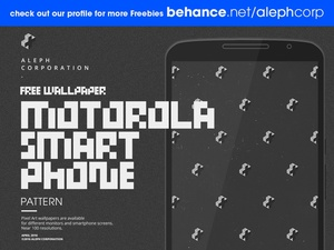 Free Motorola Smartphone Wallpapers - Pixel Art by aleph corporation