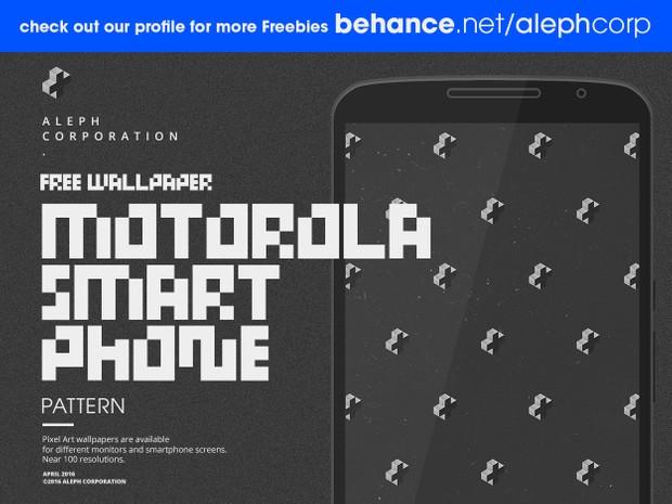 Free Motorola Smartphone Wallpapers - Pixel Art by aleph corporation