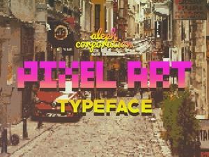    P.I.X.E.L Type Face   