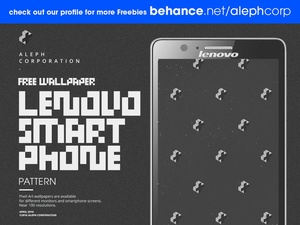 Free Lenovo Smartphone Wallpapers - Pixel Art by aleph corporation