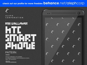 Free HTC Smartphone Wallpapers - Pixel Art by aleph corporation
