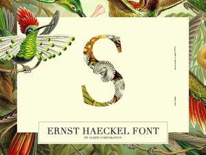    Ernst Haeckel Font   