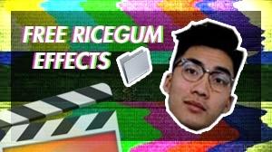 Ricegum video effects