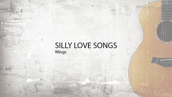 SILLY LOVE SONGS - Wings