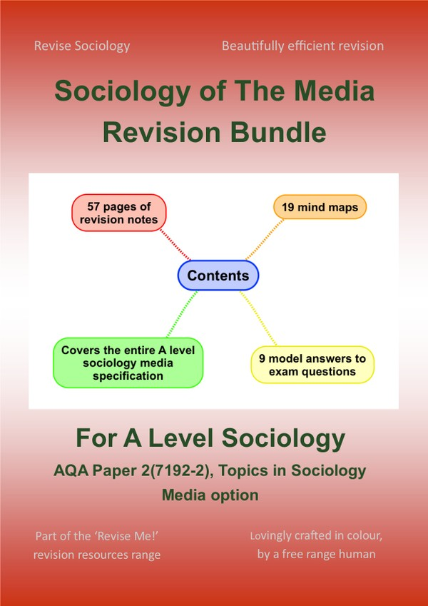 Media Revision Bundle (for A-level Sociology)