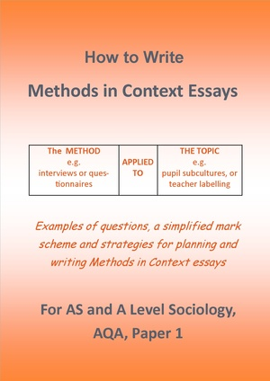Methods in Context Questions - How to Answer Them