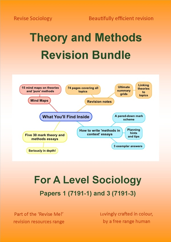 A Level Sociology Theory and Methods Revision Bundle