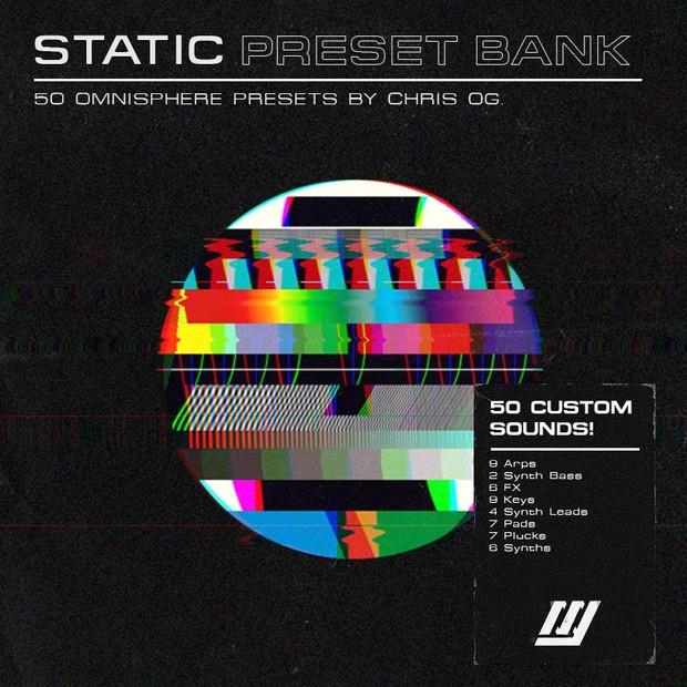 Static - Omnisphere Preset Bank