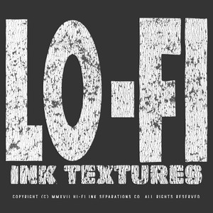 Lo-Fi Ink Textures & Brushes